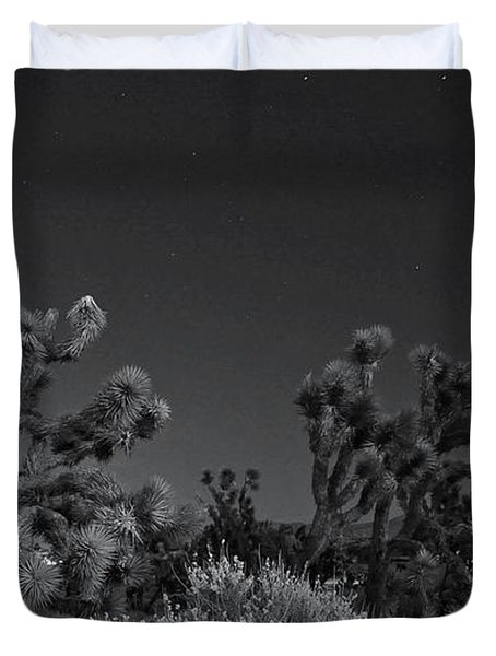 Duvet Cover featuring the photograph Losing Ground by Angela J Wright