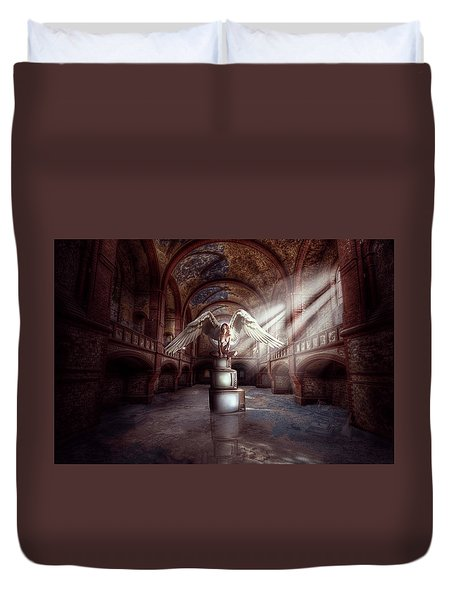 Losing My Religion Duvet Cover by Nathan Wright