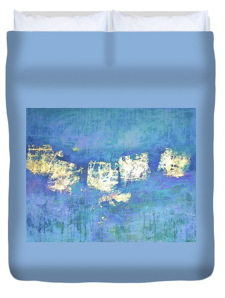 Lost And Found Duvet Cover by Filomena Booth