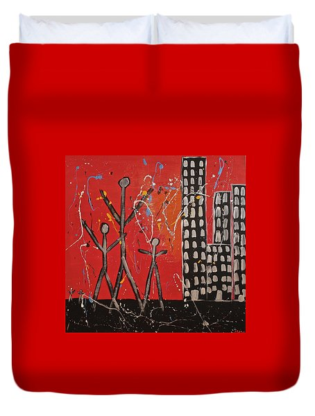Lost Cities 13-001 Duvet Cover