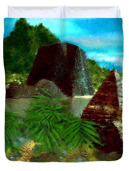 Lost City Duvet Cover by David Lane