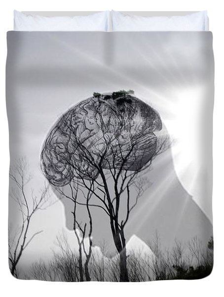 Lost Connection With Nature Duvet Cover