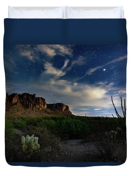 Lost Dutchman Duvet Cover