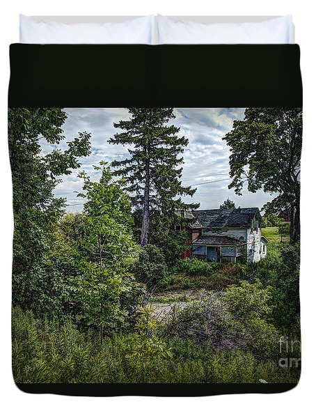 Lost Farm Duvet Cover