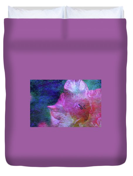 Lost Gladiolus Blossom 3018 L_2 Duvet Cover