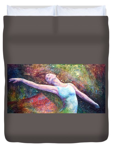 Lost In Dance  Duvet Cover by David  Maynard