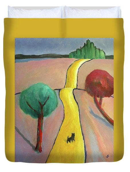 Lost In Oz Duvet Cover