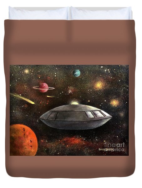 Lost In Space Duvet Cover