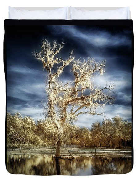 Lost In The Flood Duvet Cover
