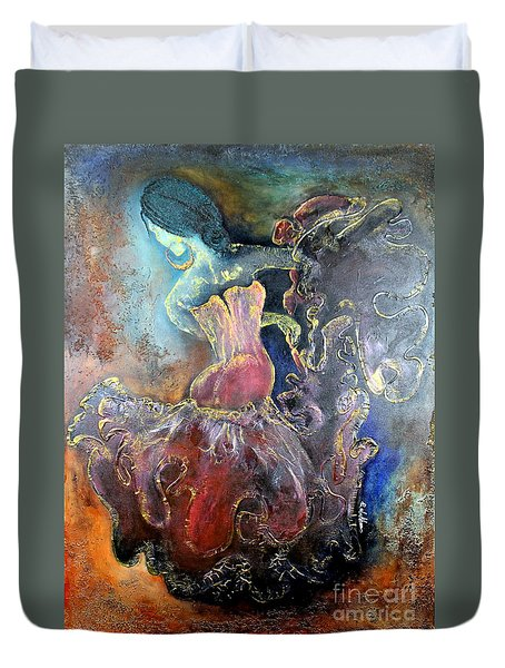 Lost In The Motion Duvet Cover