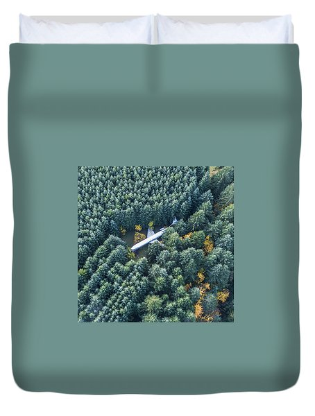 Lost In The Wild Duvet Cover