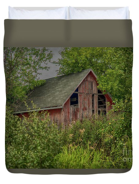 Lost In The Woods Duvet Cover by JRP Photography