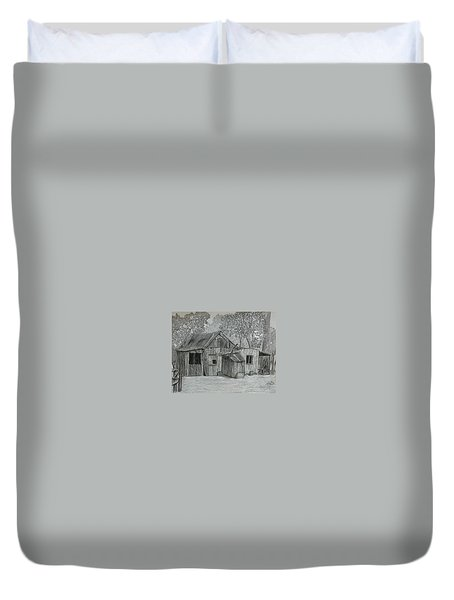 Lost In The Woods  Duvet Cover