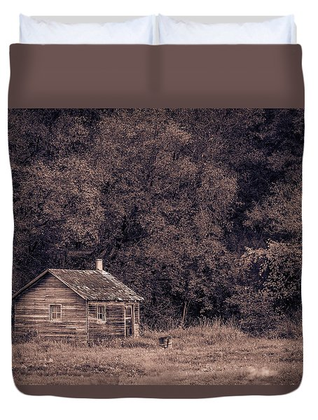 Lost In Time Duvet Cover
