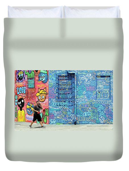 Lost In Translation Duvet Cover