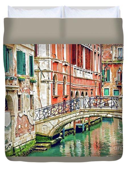Lost In Venice Duvet Cover