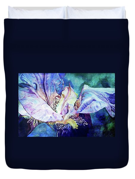 Lost Iris Passion 93 L_2 Duvet Cover