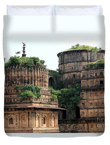 Lost Place In Central India Duvet Cover