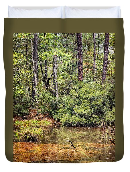 Lost Pond Duvet Cover
