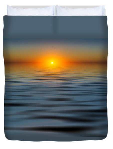 Lost Sun Duvet Cover