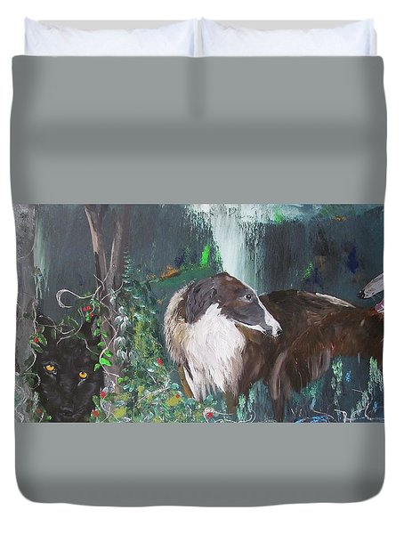 Lost Duvet Cover