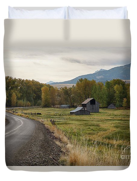 Lostine Valley Duvet Cover