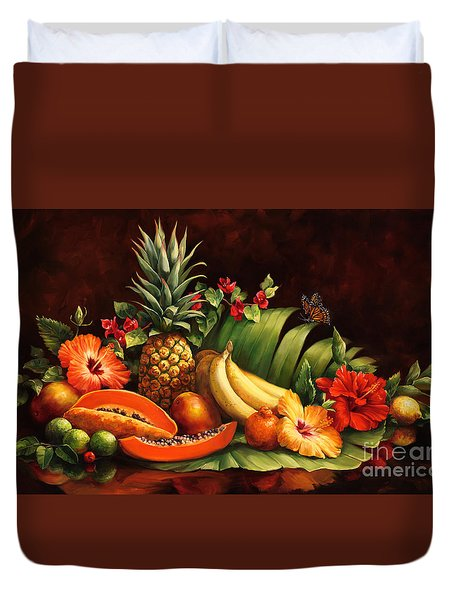 Lots Of Fruit Duvet Cover