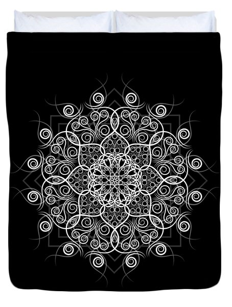 Lotus #1 Inverted Duvet Cover