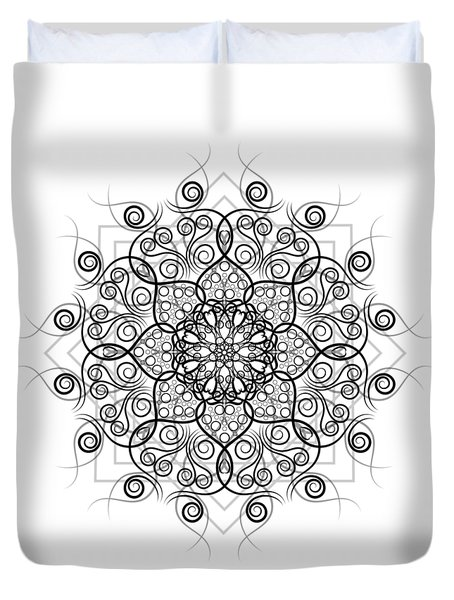 Lotus #1 Duvet Cover