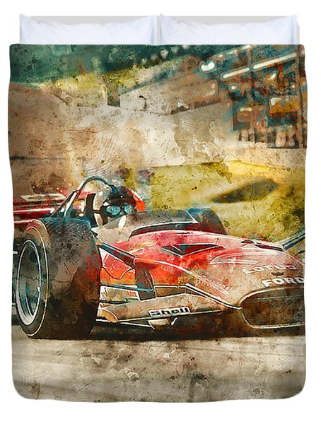 Lotus 49 - 33 Duvet Cover