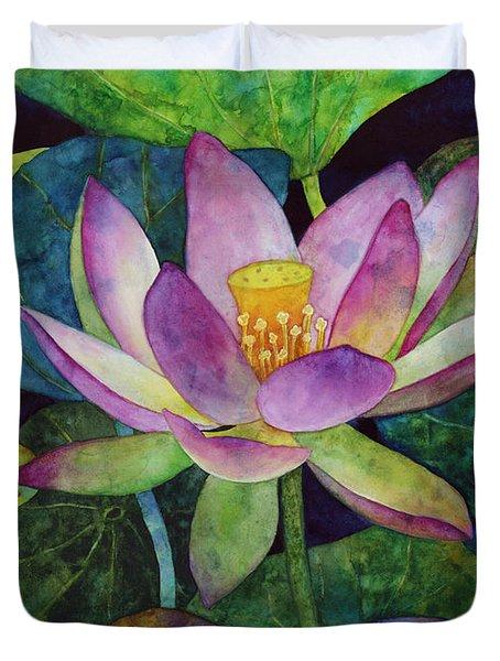 Lotus Bloom Duvet Cover