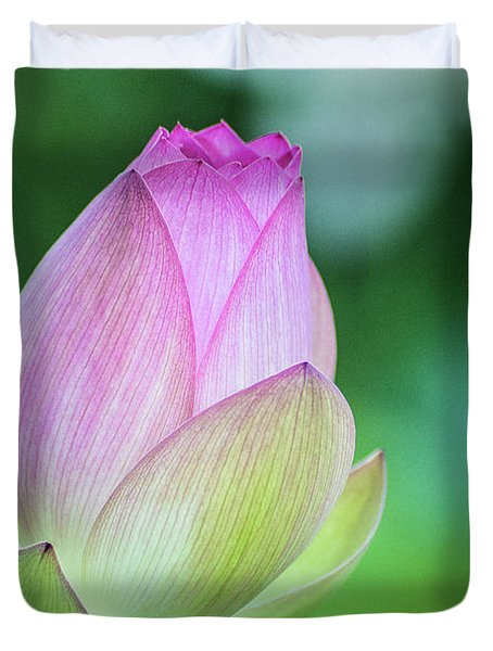 Lotus Bud Duvet Cover