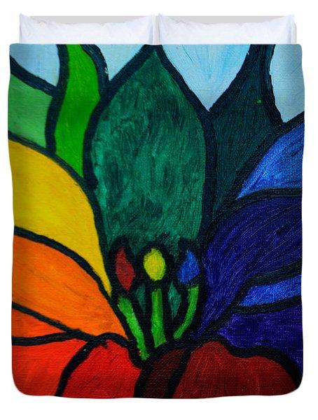 Lotus Flower 1 Duvet Cover