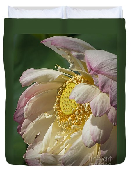 Lotus Glory Duvet Cover