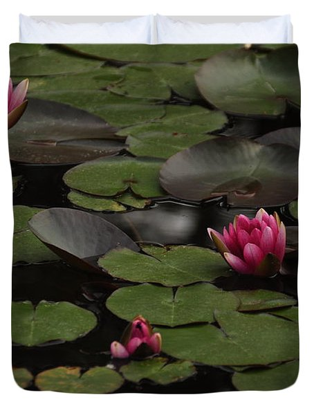 Lotus II Duvet Cover