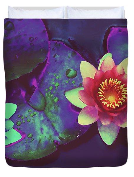 Lotus Duvet Cover