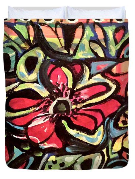 Lotus Petals Duvet Cover