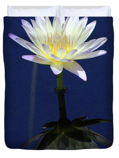 Lotus Reflection Duvet Cover