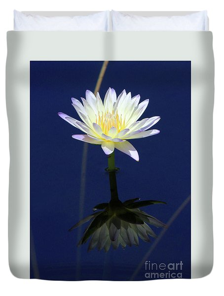 Lotus Reflection Duvet Cover