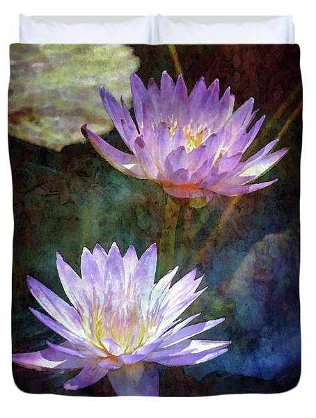 Lotus Reflections 2980 Idp_2 Duvet Cover