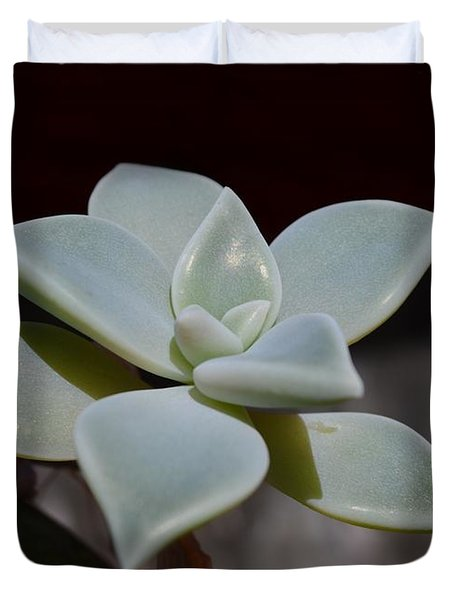 Duvet Cover featuring the photograph Lotus by Richard Ricci