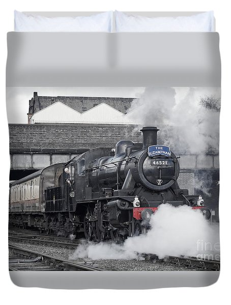 Loughborough Departure Duvet Cover