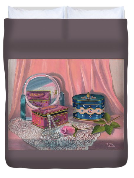 Louis Sherry Box Duvet Cover