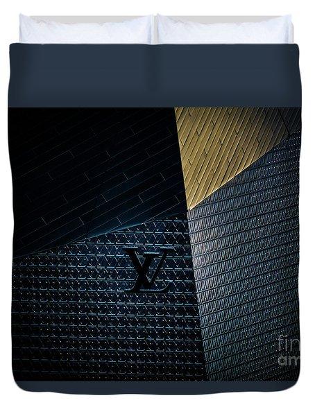 Louis Vuitton At City Center Las Vegas Duvet Cover