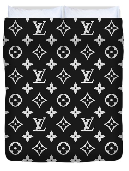 Louis Vuitton Pattern - Lv Pattern 06 - Fashion And Lifestyle Duvet Cover