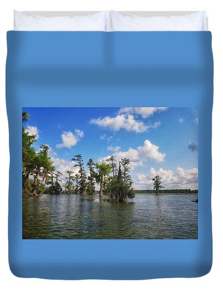 Louisiana Bayou Duvet Cover