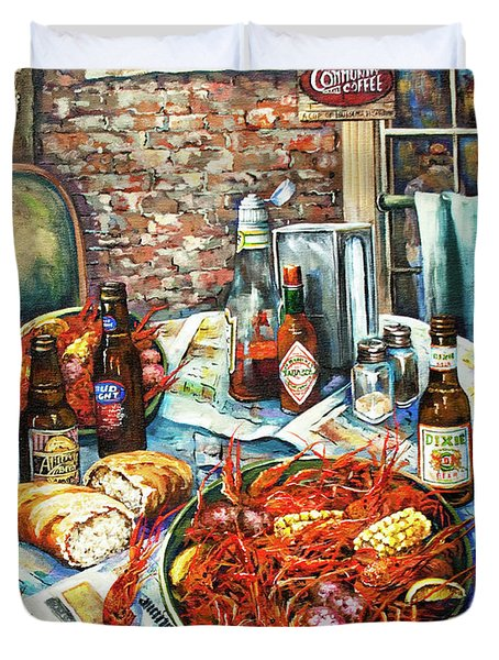 Louisiana Saturday Night Duvet Cover