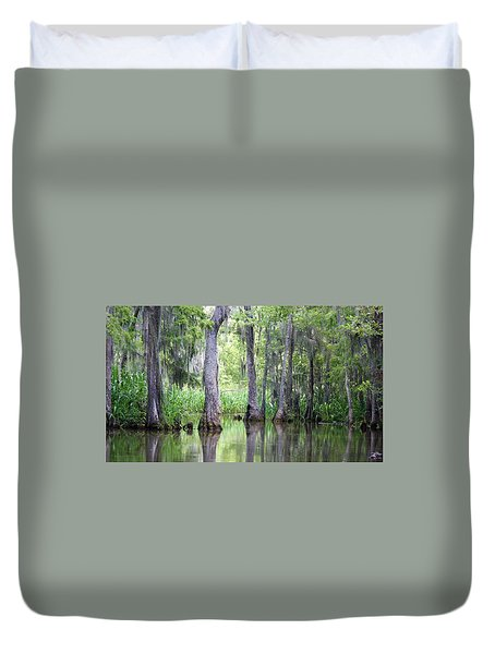 Louisiana Swamp 5 Duvet Cover