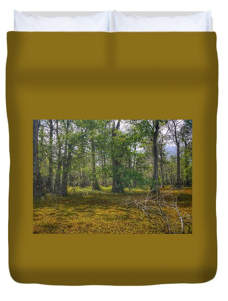 Louisiana Swamp Duvet Cover