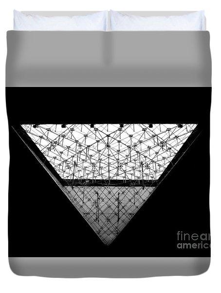 Lourve Pyramid Duvet Cover